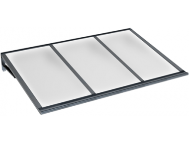 Shelter Lira Grey Opal Aluminium AMA Sun Protection