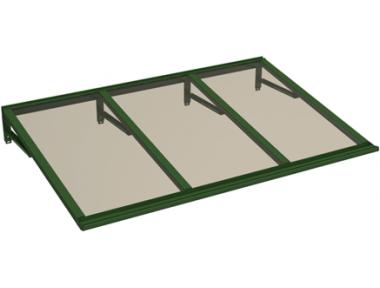 Shelter Lira Green Bronze Aluminium AMA Sun Protection
