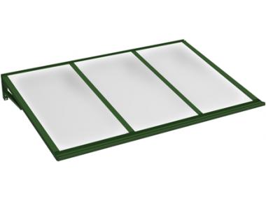 Shelter Lira Green Opal Aluminium AMA Sun Protection