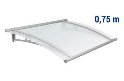 Newstyle Canopy NS-01 Neutral Satin Roof 0,75m Overhang Royal Pat Newentry