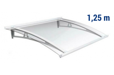 Newstyle Canopy NS-01 Transperent Roof 1,25m Overhang Royal Pat Newentry