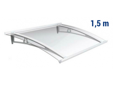 Newstyle Canopy NS-01 Transperent Roof 1,50m Overhang Royal Pat Newentry