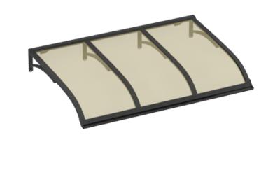 Shelter Sailing Grey Bronze Aluminium AMA Sun Protection
