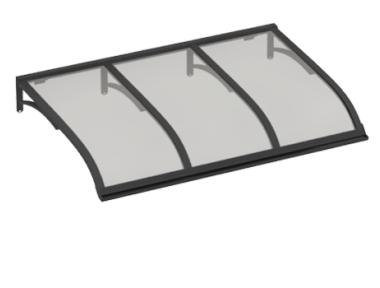 Shelter Sailing Grey Grey Aluminium AMA Sun Protection