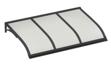 Shelter Sailing Grey Opal Aluminium AMA Sun Protection