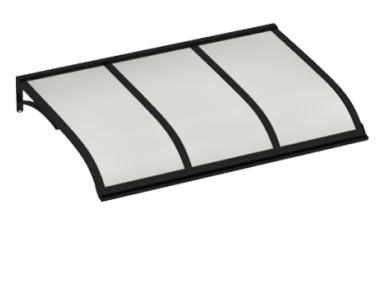 Shelter Vela Black Opal Aluminium AMA Sun Protection