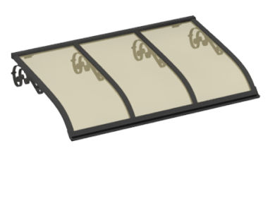 Shelter Sailing Old Grey Aluminium Bronze AMA Sun Protection