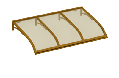 Sailing shelter Copper Bronze Aluminium AMA Sun Protection