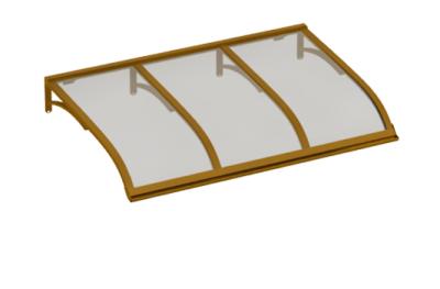 Sailing shelter Copper Grey Aluminium AMA Sun Protection
