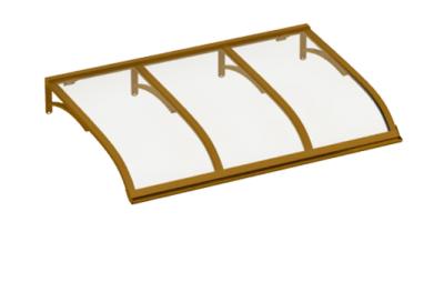 Sailing shelter Copper Transparent Aluminium AMA Sun Protection