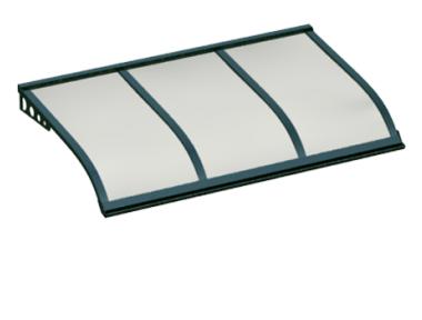Shelter Sailing Style Attack Green Wall Opal Aluminium AMA