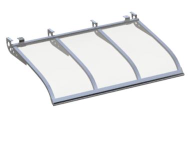 Shelter Sailing Style Attack Ceiling Aluminum Transparent Aluminium AMA