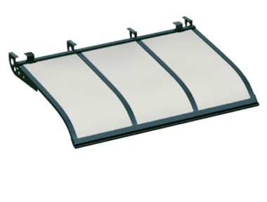 Shelter Sailing Style Attack Ceiling Green Opal Aluminium AMA