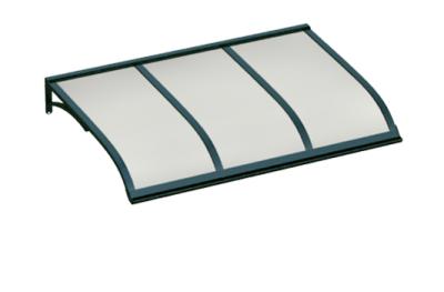 Shelter Vela Green Opal Aluminium AMA Sun Protection