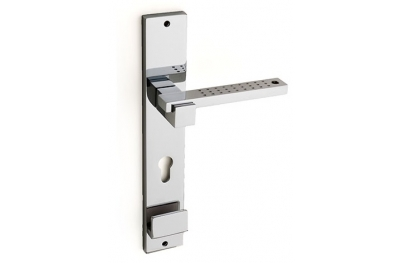 Plus Point Door Handle on Plate Fashion Line PFS Pasini