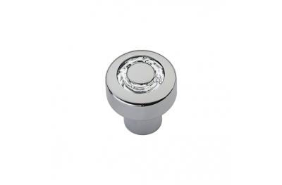 Cabinet Knob Linea Calì Cosmic Crystal CR with Swarowski® Polished Chrome