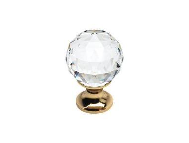 Cabinet Knob Linea Calì Crystal OZ with Crystal Swarowski®
