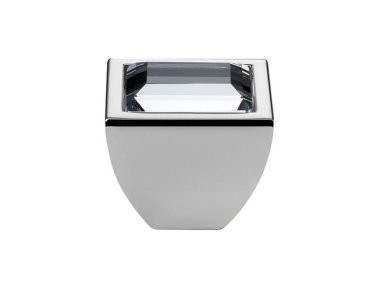 Cabinet Knob Linea Calì Elios Crystal PB with Swarowski® Polished Chrome