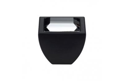 Cabinet Knob Linea Calì Elios Crystal PB with Swarowski® Matt Black
