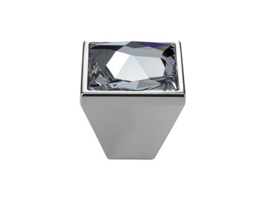 Cabinet Knob Linea Calì Pop-Art PB with Swarowski® Polished Chrome
