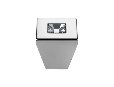 Cabinet Knob Linea Calì Reflex PB with Swarowski® Polished Chrome