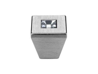 Cabinet Knob Linea Calì Reflex PB with Swarowski® Satin Chrome
