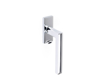 Pompei Handle for DK window on Square Rose Brass Pfs Pasini i-Design