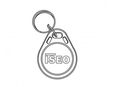 Keyfob User Keyfob Trasponder Mifare for Iseo Libra Electronic Cylinder