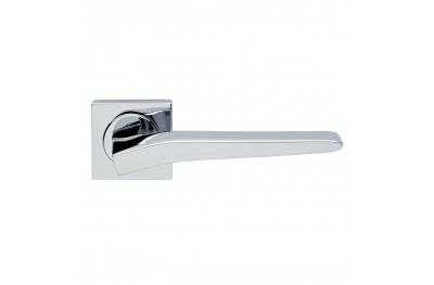 Preso Design Manital Polished Chrome Pair of Door Lever Handles