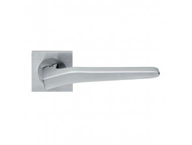 Preso Design Manital Satin Chrome Pair of Door Lever Handles