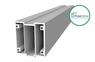 Lower PVC Profile for Window Thermal Counterframe Klima PosaClima