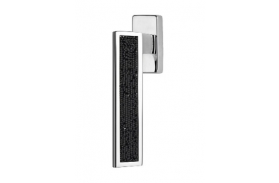 Riflesso Jet Rocks Dry Keep Window Handle Linea Calì Crystal
