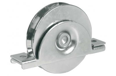 Wheel with Internal Support 1 Ball Bearing V Groove for Sliding Gates IBFM