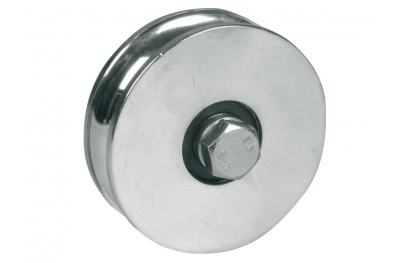 Wheel for Sliding Gates 2 Ball Bearings U Round Groove Ø20 IBFM