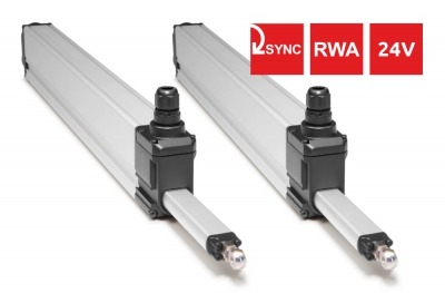 S80 Topp 24V Syncro Actuators for Windows 800N 2 Points of Push