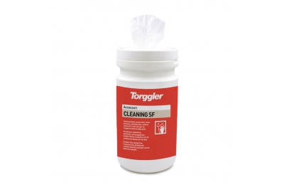 Cleaning SF Torggler Wipes to Clean Silicone