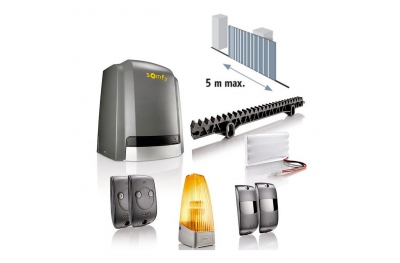 Slidymoove 300 Somfy Motor Kit for Sliding Gates with Battery