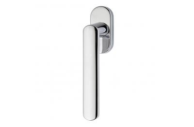 Solis Series Fashion forme Dry Keep Window Handle Frosio Bortolo Satin Chrome