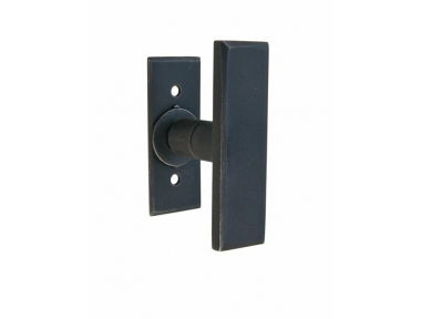Stockholm Galbusera Window Handle with Rosette Wrought Iron
