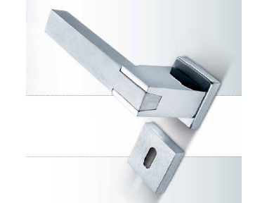 Sublime Sicma Smart Line Handle Door with Rosetta and nozzle Square
