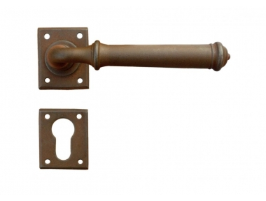 Tallin 1 Galbusera Door Handle with Rosette and Escutcheon Plate