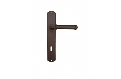 Tallin 2 Galbusera Door Handle with Plate