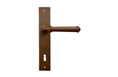 Tallin Galbusera Door Handle with Plate