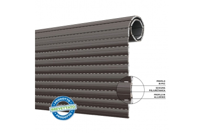 Duero 40 Rolling Shutter in PVC and Aluminum with Thermal Insulation