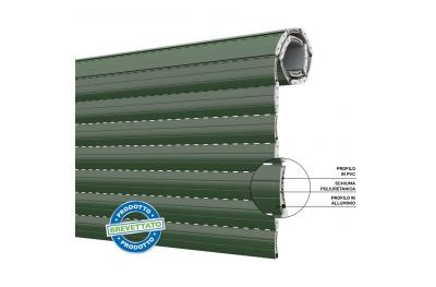 Duero 55 Shutter Energy Saving Roller Shutter in PVC and Aluminum