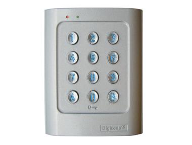 DGA Stand-Alone Keypad Retro-Illuminated Aluminum Alloy DIGICODE 2 Relay Access Control CDVI