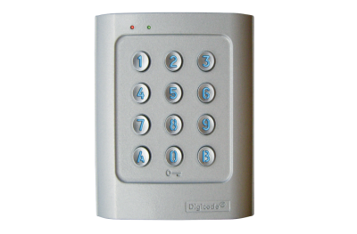 DGA Stand-Alone Keypad Retro-Illuminated Aluminum Alloy DIGICODE 2 Relay Access Control CDVI
