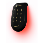 Combined Keypad/Proximity Reader Dual Technology SOLARKPB Black Polycarbonate Retro-Illuminated Wiegand 125Khz Innovative Design CDVI