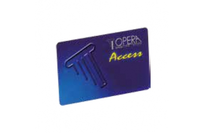 Magnetic Strip Card for Access Control 55615 Access Series Opera