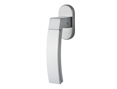 Trama 1 DK Dry Keep Window Handle Made in Italy With Double Finish by Colombo Design